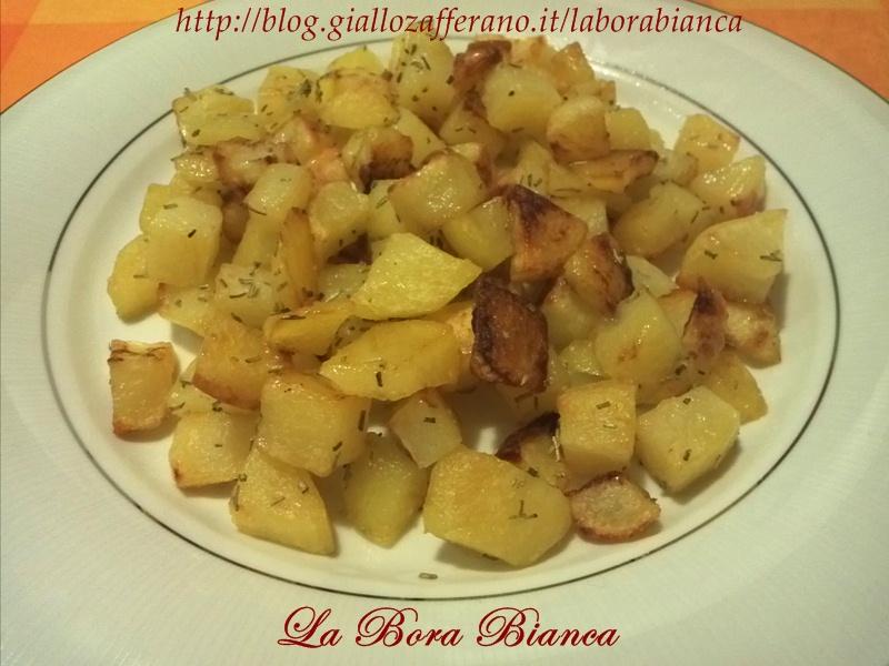Patate al forno, ricetta patate arrosto La Bora Bianca