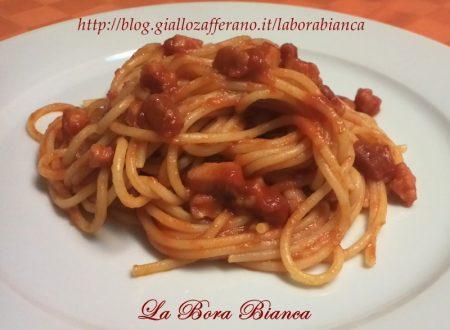 Spaghetti all'amatriciana, ricetta regionale