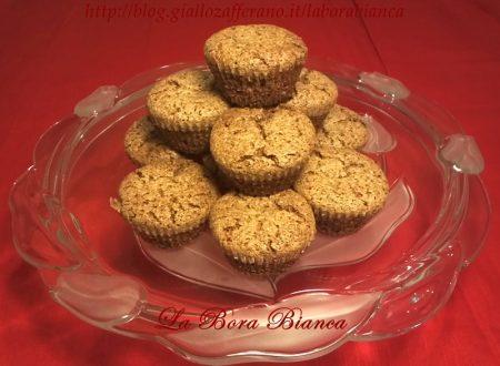 Muffin di noci, ricetta con soli albumi