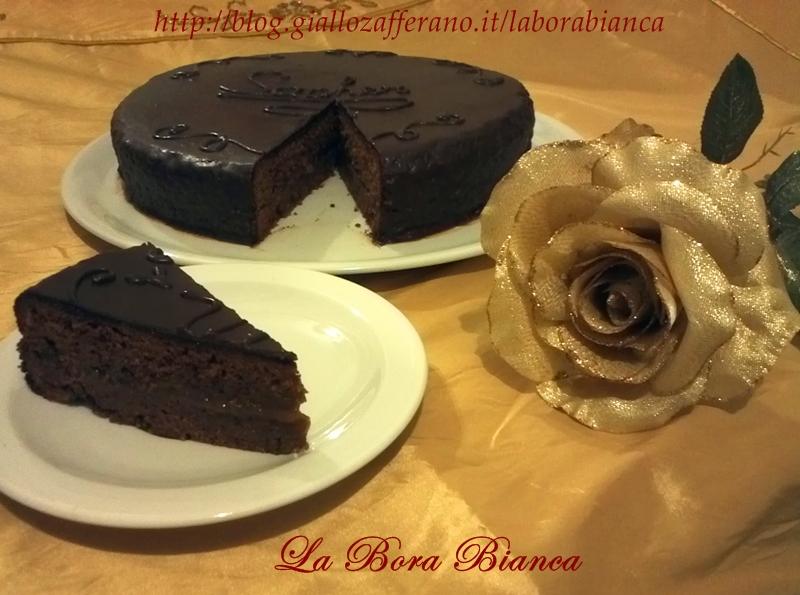 Torta Sacher, ricetta sachertorte austriaca La Bora Bianca