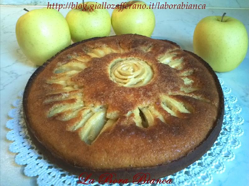Torta di mele a raggi, ricetta soffice e golosa La Bora Bianca