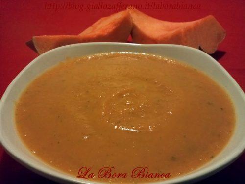 Crema di zucca, ricetta vegetariana