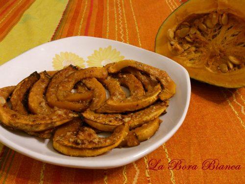 Zucca al forno gratinata, ricetta vegetariana