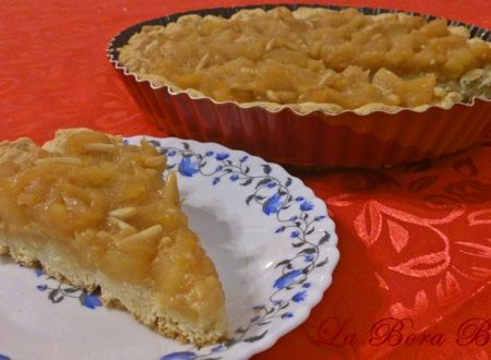 Crostata di mele, ricetta senza uova