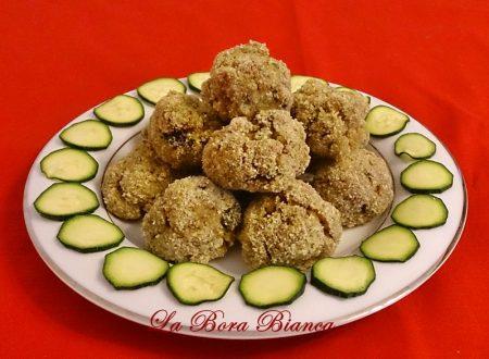 Polpette di zucchine, ricetta al forno
