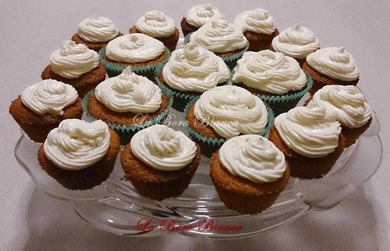 Cupcake allo zabaione, La Bora Bianca