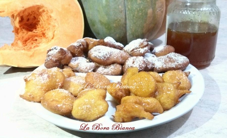 Frittelle di zucca, La Bora Bianca