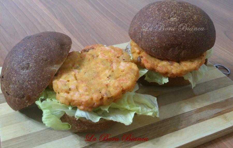 Hamburger di salmone, La Bora Bianca