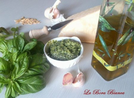 Pesto alla genovese, ricetta tradizionale