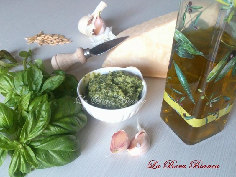 Pesto alla genovese, La Bora Bianca