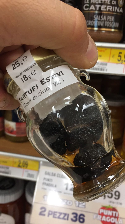 tartufi cinesi e aromi chimici