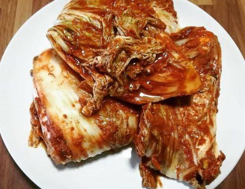 KIMCHI : cavolo fermentato coreano