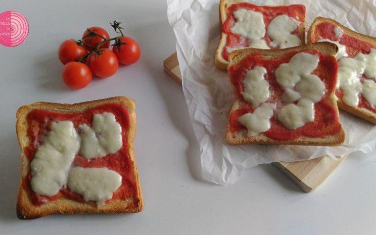 Pizzette di pancarrè (ricetta veloce)
