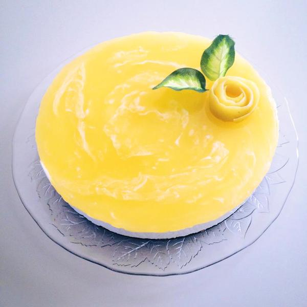 Cheesecake Al Limone Lacquolina In Bocca