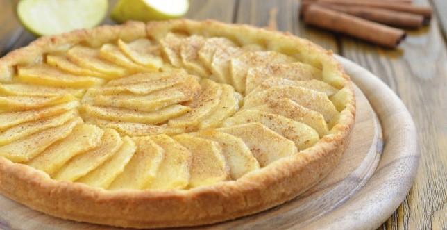 Crostata di mele e crema pasticcera l 39 acquolina in bocca for Crostata di mele