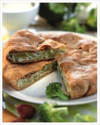 Torta salata con i broccoli