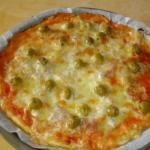 PIZZA CON PROSCIUTTO CRUDO E GORGONZOLA