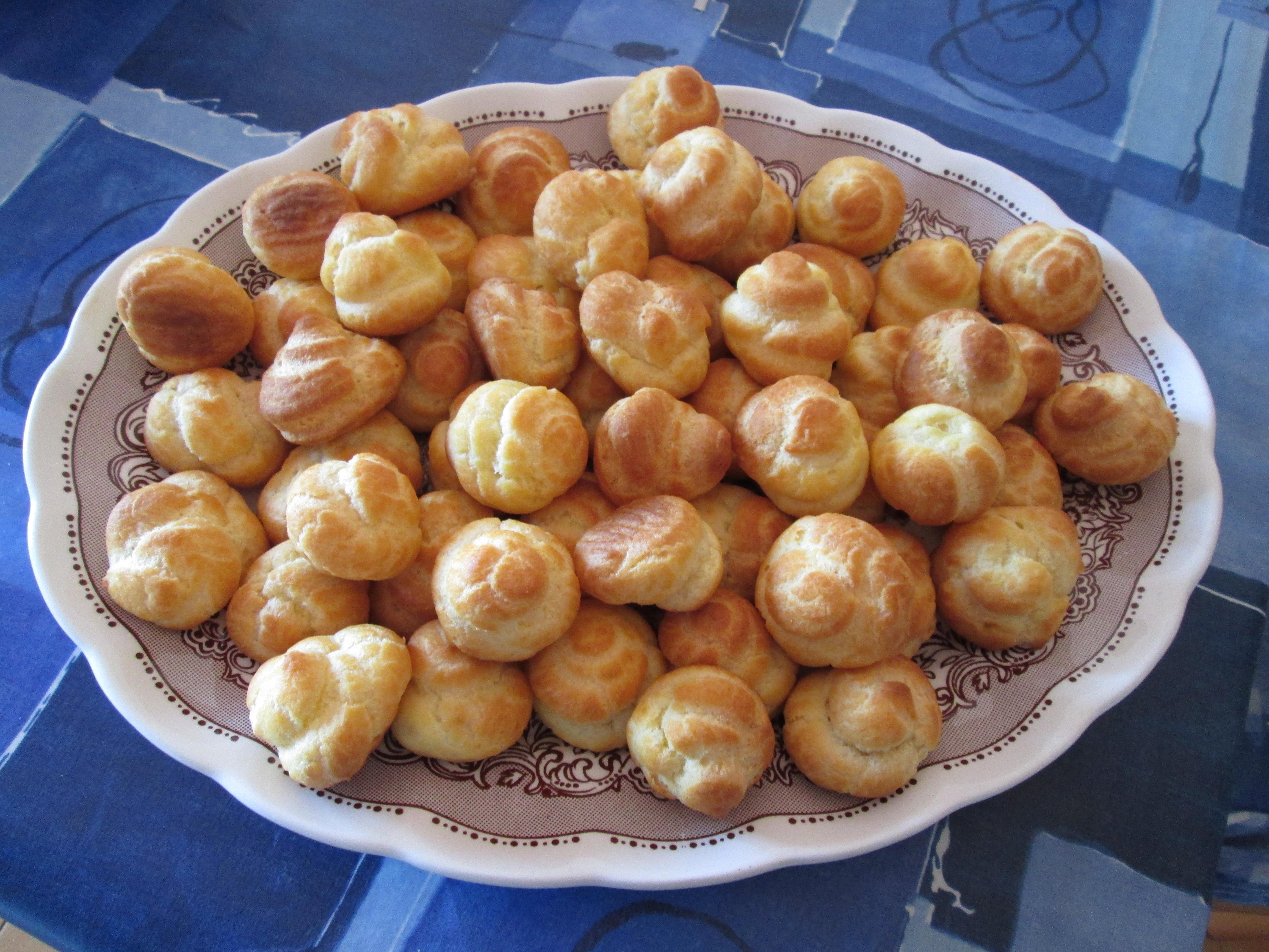 Bigne 39 pasta choux la cucina azzurra di francesca for La cucina di francesca valmadonna