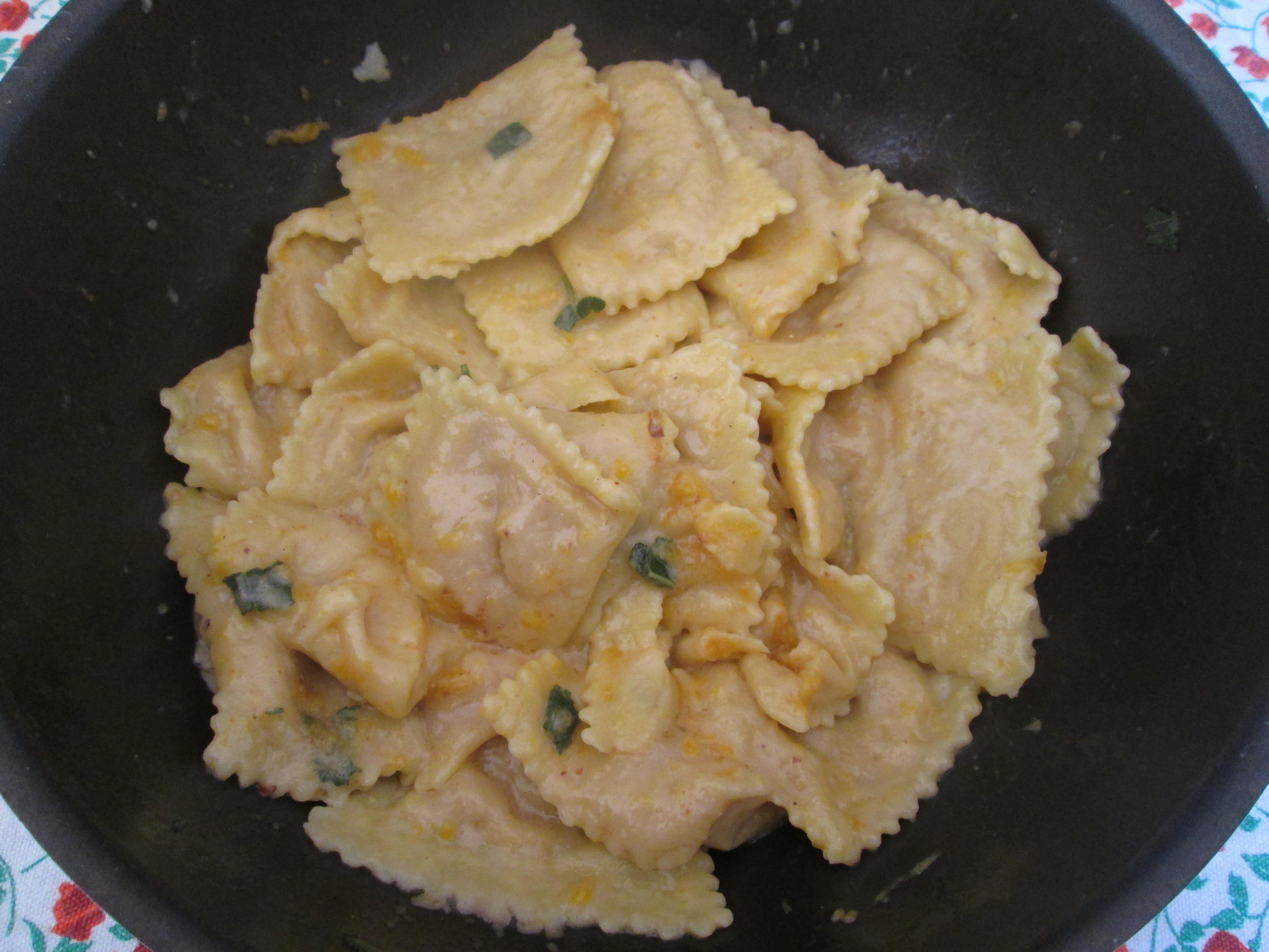 pumpkin amaretti gnocchi