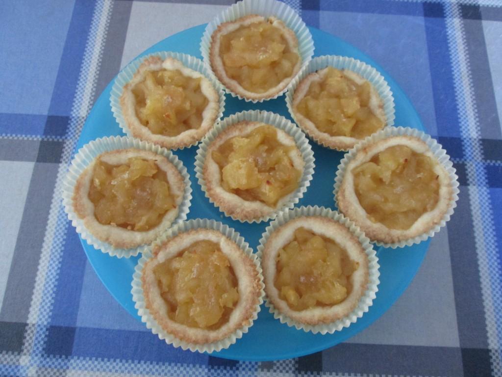 Crostatine di mela la cucina azzurra di francesca for La cucina di francesca valmadonna