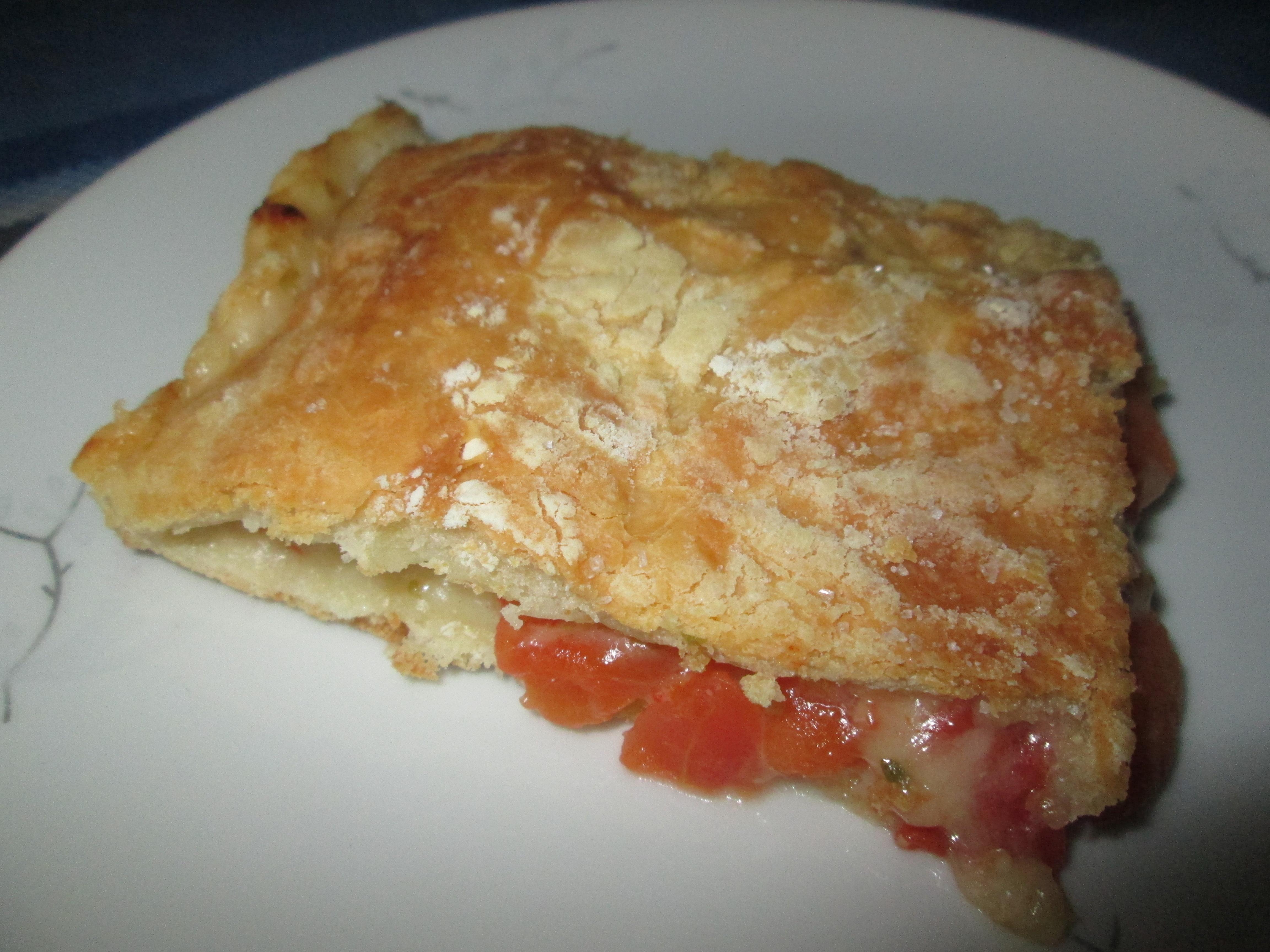 Focaccia farcita con pomodori mozzarella e origano la for La cucina di francesca valmadonna