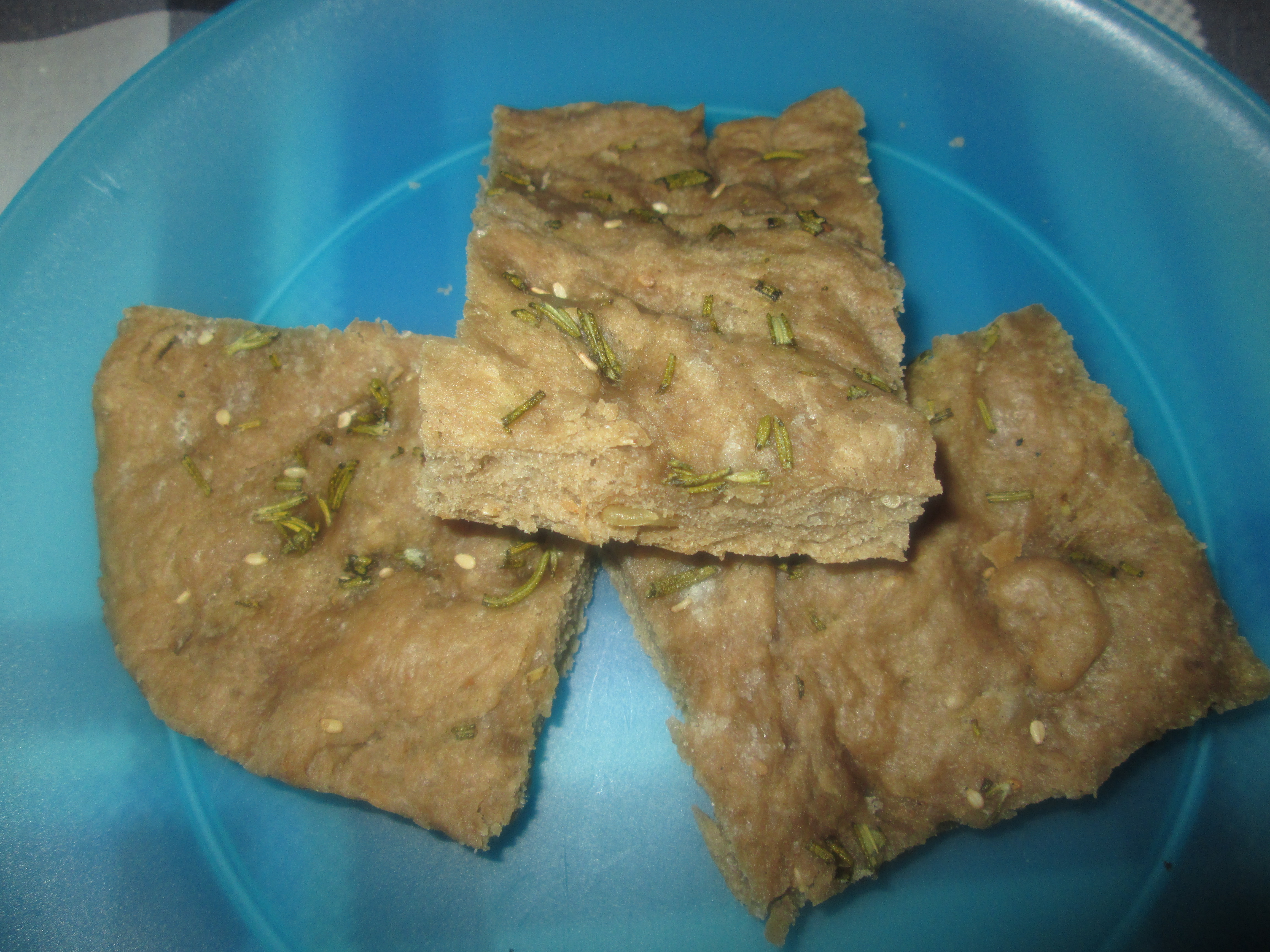 Focaccia ai 7 cereali al rosmarino la cucina azzurra di for La cucina di francesca valmadonna