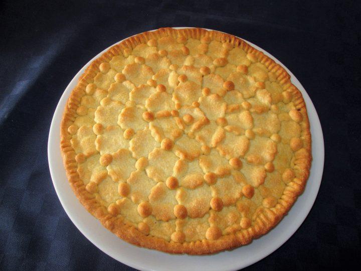 Crostata ripiena di cioccolato la cucina azzurra di for La cucina di francesca valmadonna
