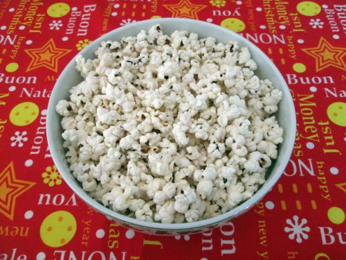 POP CORN AL FORNO