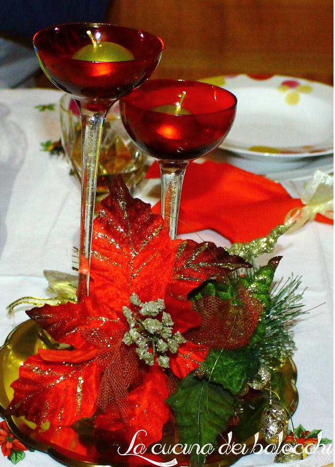 La tavola di natale la cucina dei balocchi - Centrotavola natale ...