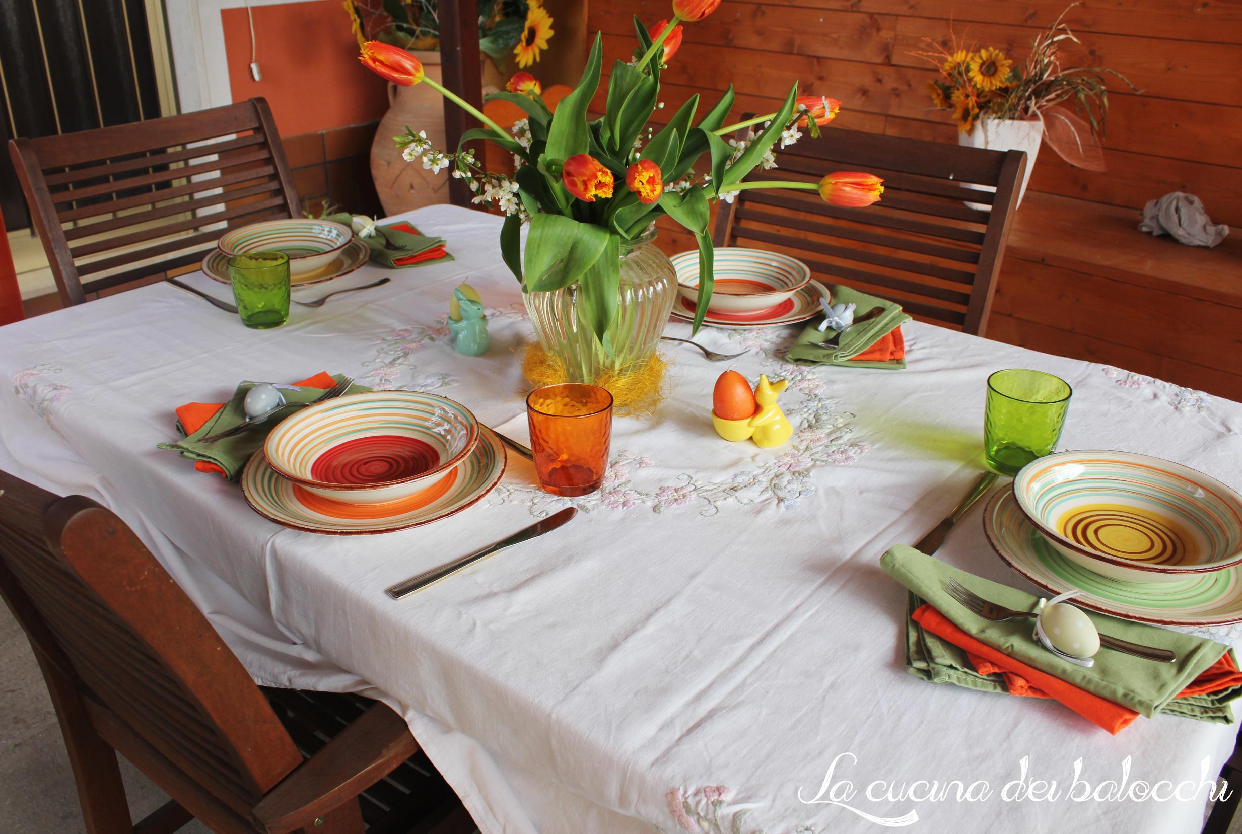 Tavola di pasqua la cucina dei balocchi - La tavola di pasqua ...
