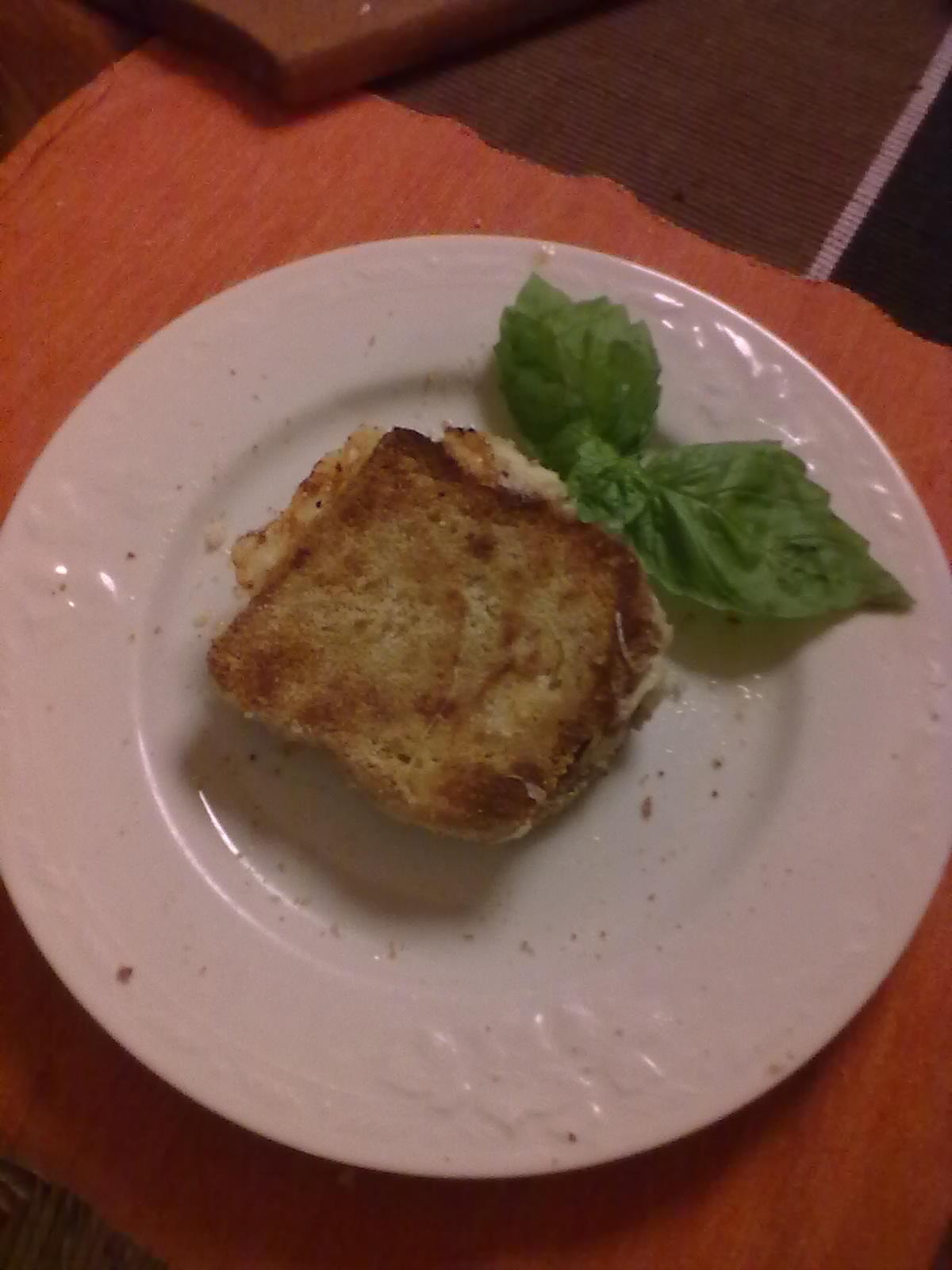 Mozzarella in carrozza al forno lacucinadiannamaria for Ricette mozzarella in carrozza al forno