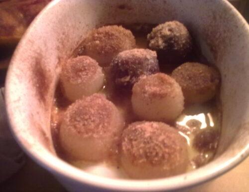 Cipolle gratinate di Rossana