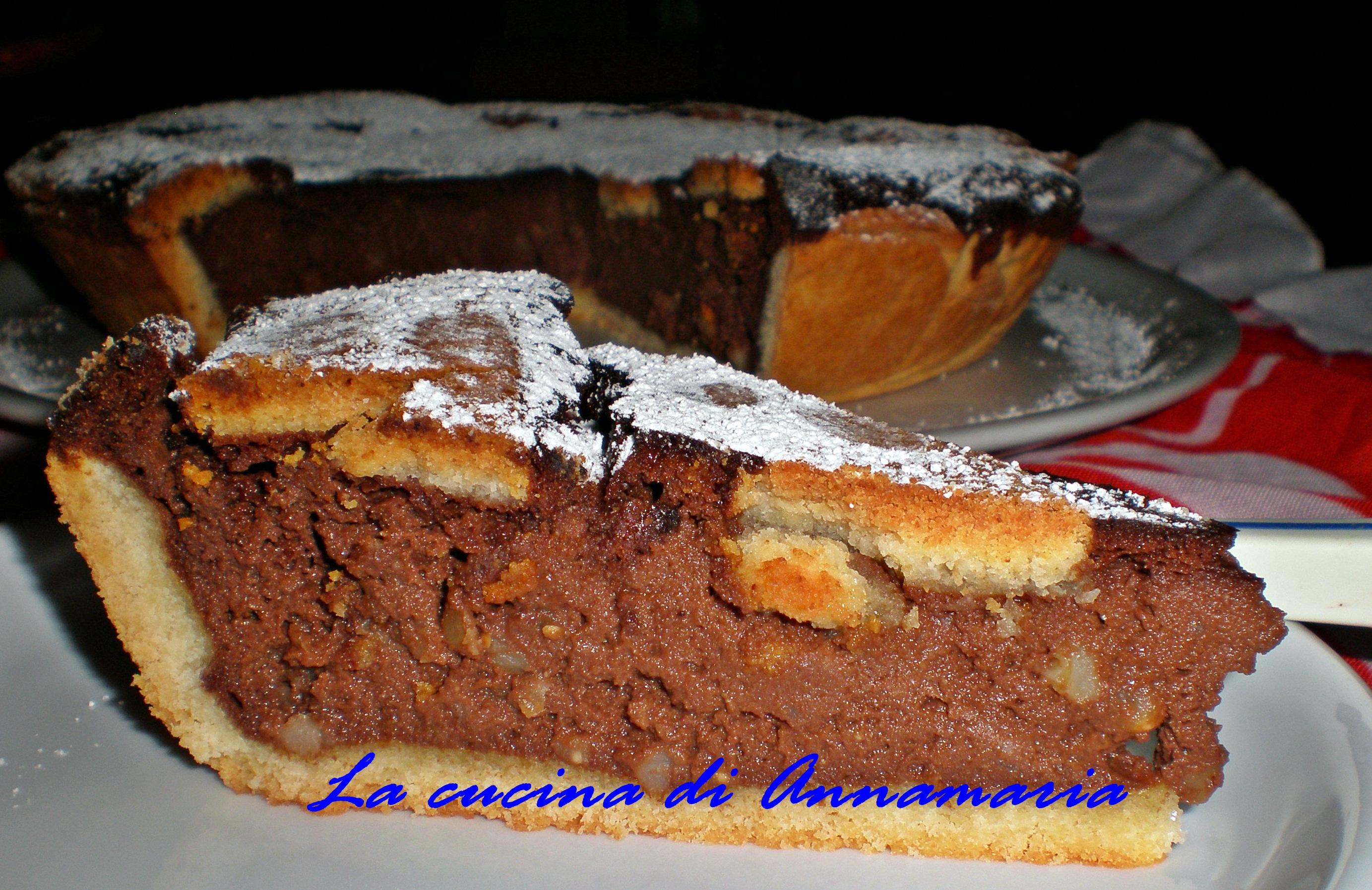 Pastiera Al Cioccolato Di Sal De Riso Lacucinadiannamaria