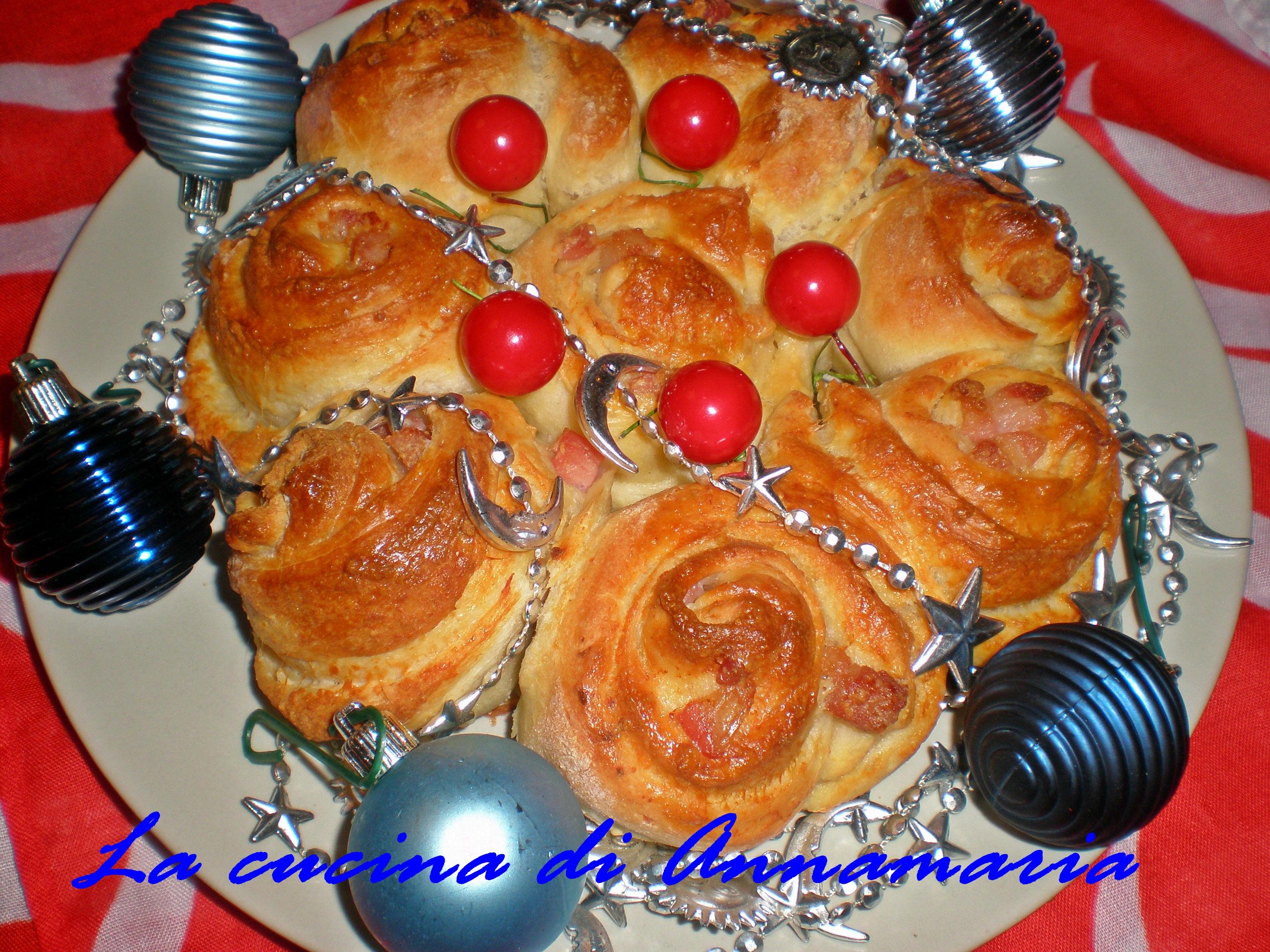 Centrotavola di pane farcito ricetta di natale - Centrotavola natale ...