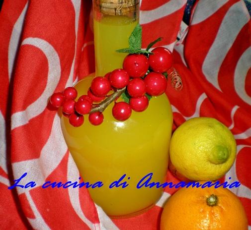 Rosolio di Natale agli agrumi,ricetta digestivo