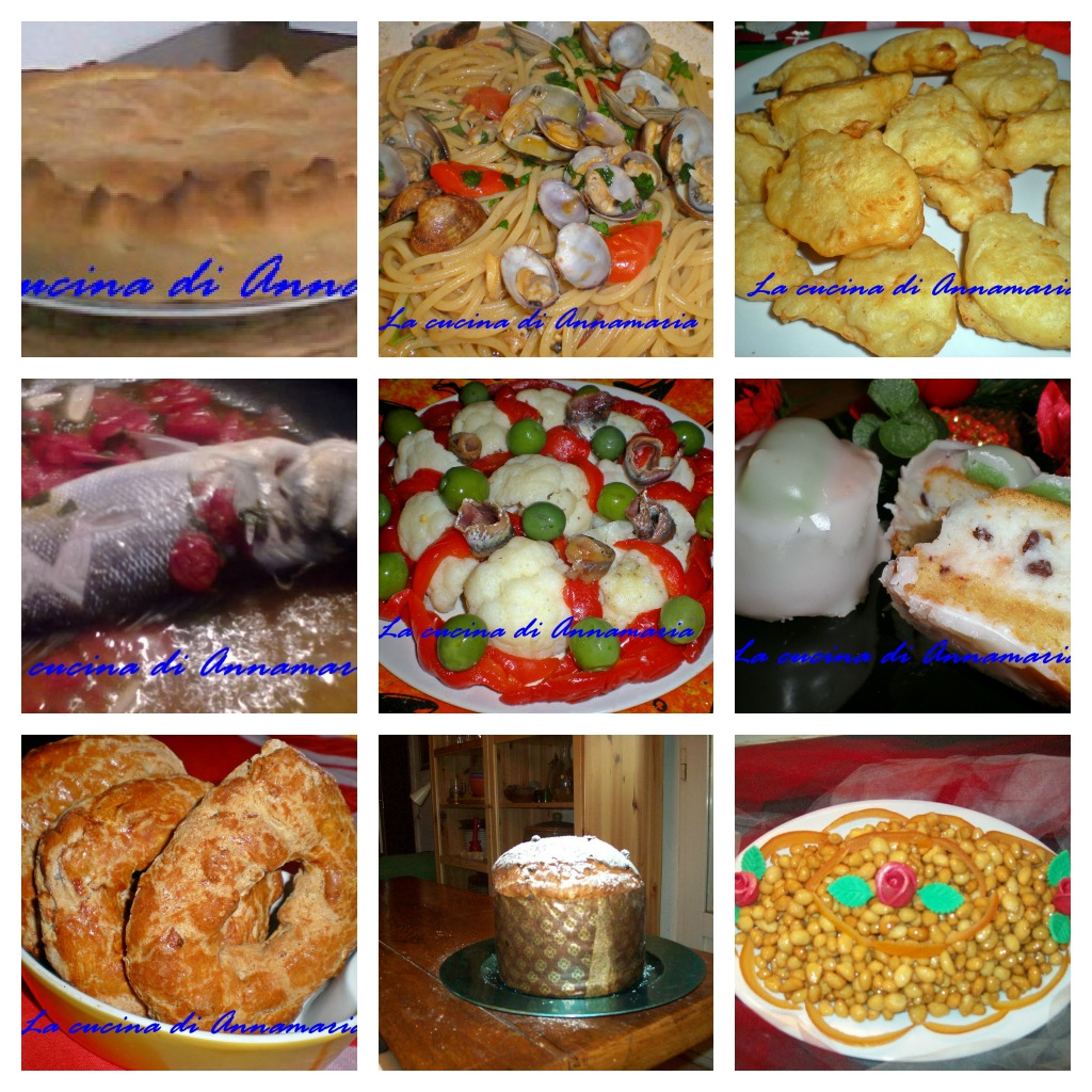 Cena Di Natale Menu Tradizionale.Menu Vigilia Di Natale Ricette Tradizionali Napoletane