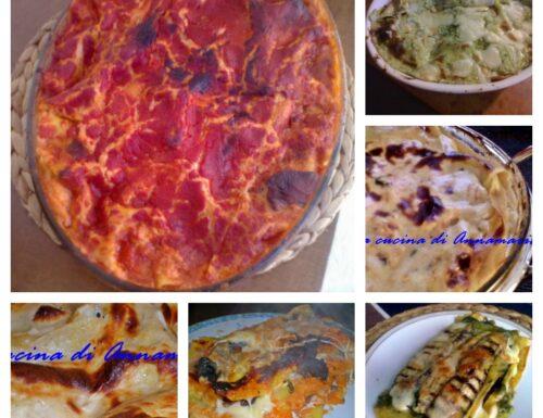 Idee lasagne per Carnevale
