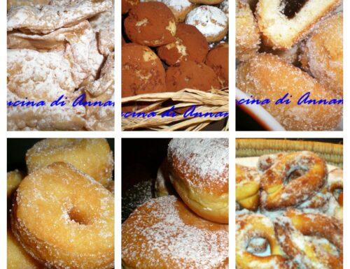 Idee ricette dolci di Carnevale