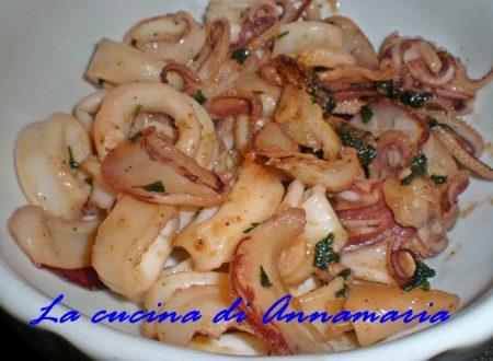 Calamari al profumo di limone, ricetta light