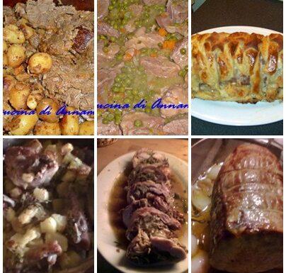 Idee  ricette secondi piatti per Pasqua