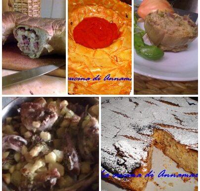 Pasqua  menu' tradizionale napoletano