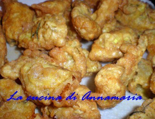 Carciofi indorati e fritti, ricetta napoletana