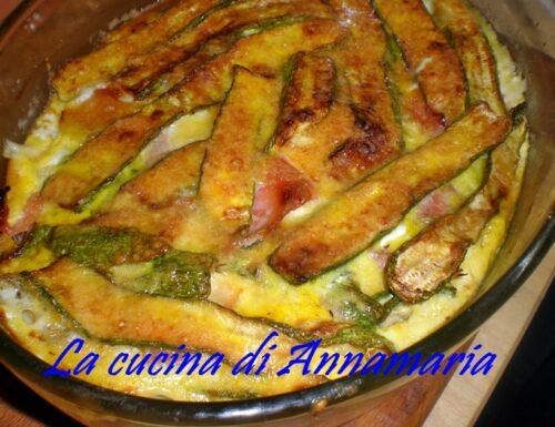 Parmigiana di zucchine bianca, ricetta napoletana