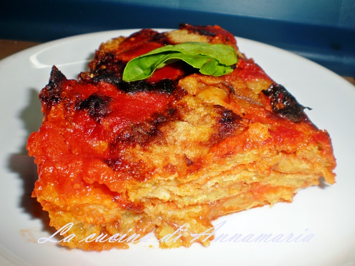 La vera parmigiana di melanzane napoletana, ricetta