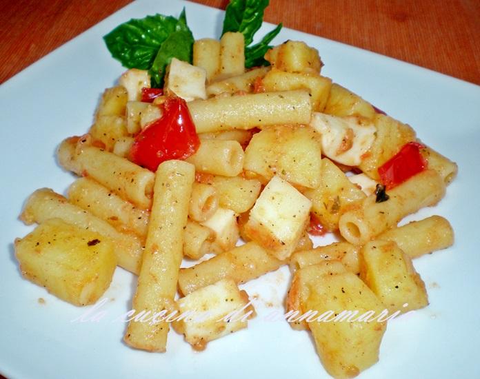 pasta e patate fredda