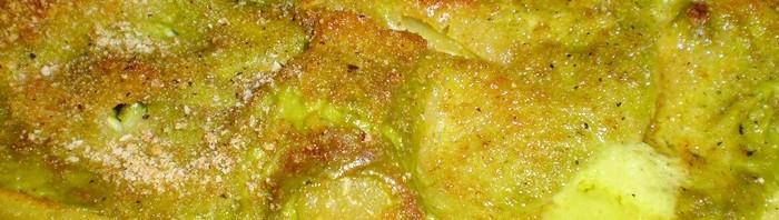 paccheri con pesto di zucchine