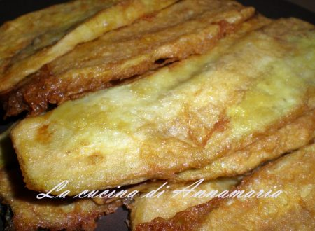 Melanzane indorate e fritte, ricetta napoletana