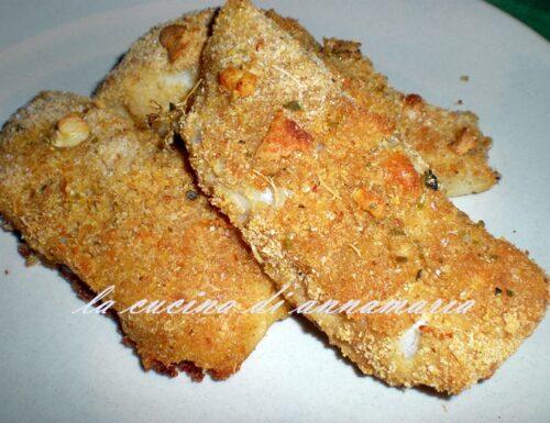 Filetti di merluzzo impanati al forno croccanti e leggeri