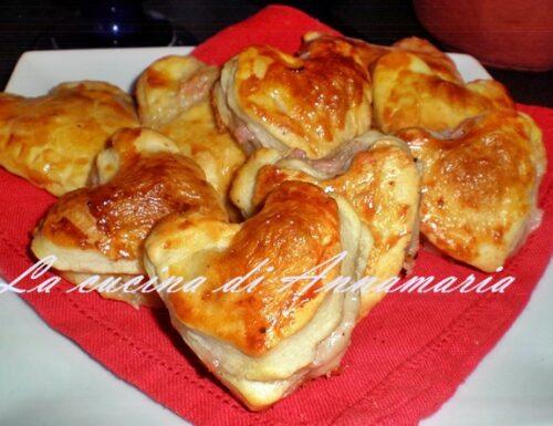 Fagottini ripieni, ricetta di San Valentino