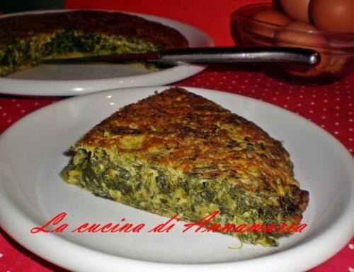 Frittata di friarielli, ricetta napoletana